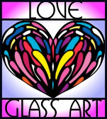 Love Glass Art Logo